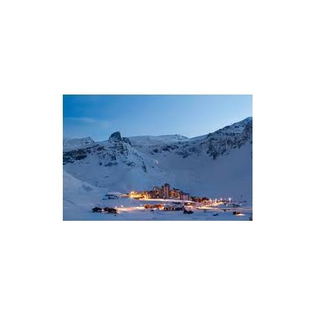 Estacion de Esquí. Tignes