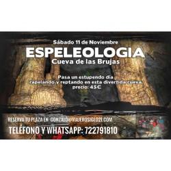 Espeleologia Cueva de las brujas