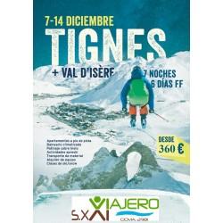Viaje de Esqui Puente de la Inmaculada en Tignes