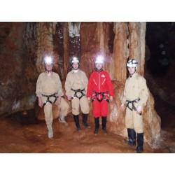 Espeleología. Cueva de las Majadillas nivel 1