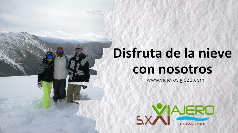 Nieve viajero siglo 21